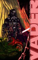 Darth Vader vs Rancor by ACivicDilemma