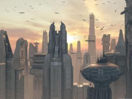 Coruscant by oliatoth