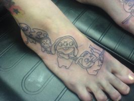 Ugly dolls foot piece 2 by Shipht