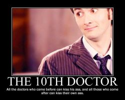 The 10th Doctor by D-wing1
