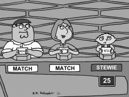 Family Guy on Match Game 62 by DJgames