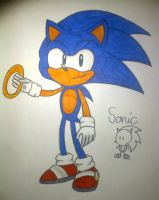 Sonic - Sonic The Hedgehog by N1ght1ng4L3