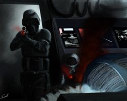 Star Wars Storm Commando Infiltration by chiconspiracy