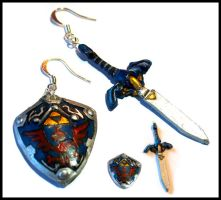 Zelda Earrings by Eliket