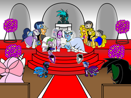 Ask Twixie Tumblr Wedding Photo #4 by Dekomaru