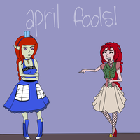 April Fools by SteampunkedInkling