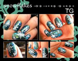 snowflakes by toku