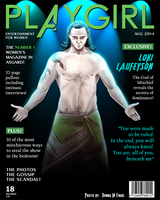 PLAYGIRL - Loki Laufeyson by tavington