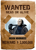 Tankman Inc's Most Wanted: Jason Voorhees by thephilipvictor
