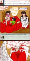 Ask Inuyasha: Sword singing and fancy suits by unknownpicture
