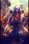 Tali'Zorah nar Rayya by The35thChamber