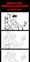 Dwayne The Mage : The Proccess by ChristopherDenney