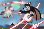 Battle for the Skies by LordDominic