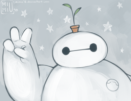 Baymax Facebook Cover Photo by Mimiu78