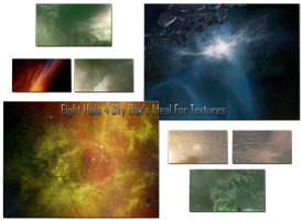Halo 4 Sky Box's Textures Stocks by BiffTech