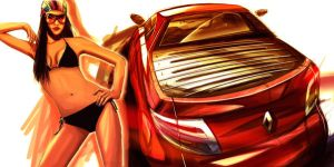 Renault Pick-up Concept by RickSIC