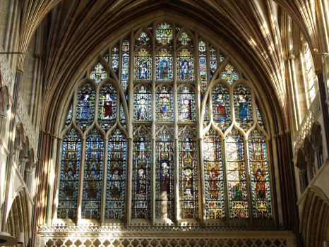 Stained Glass Windows of Exeter Cathedral No. 2 by Kitsune-Akki