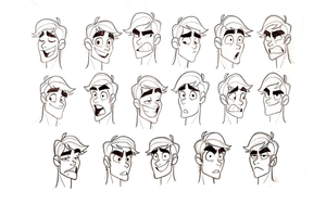 Jacob expressions by chillyfranco