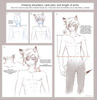 Shoulder, Neck and Arm Length Tutorial by darkn2ght