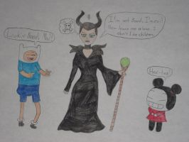 Maleficent's Mistake by rabbidlover01