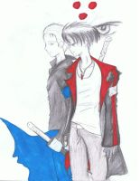 DmC: Devil May Cry Dante and Vergil by Nilihas