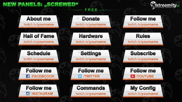 Streamity.gg - Panels (Package) - #012 by streamity