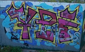 Inverness graffiti by piglet365