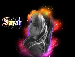 Sarah by Distorted-Colours