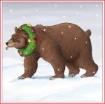 Christmas Bear by UrsusArctos