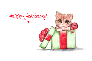 Purrfect Present by Tazmany