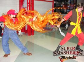 Super Mario Special Fire by keught