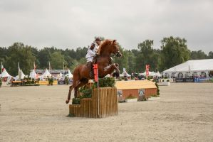 Eventing Stock - Anna Hassoe and Clover by LuDa-Stock