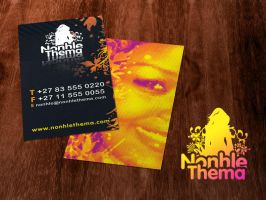 Nonhle Themba Business cards by gmey