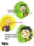 Loki is Alan Rickman by ForgetMorals