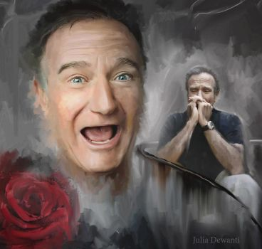 RIP Robin Williams by JDewantiArt