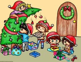A One Direction christmas by sonicfan141414