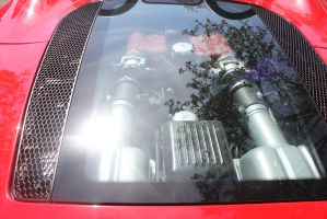 Ferrari F360 Spyder Engine Bay by MisterEclipse