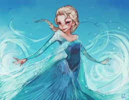 elsa by genicecream