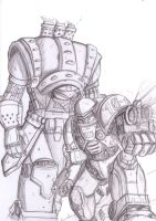 Executioner and Trooper by Thurosis