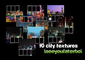 10 City Textures by Iseeyoulaterboi