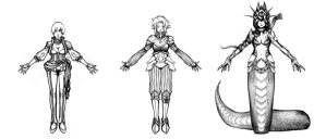 Fantasy character design (no title) by IroNoSekai