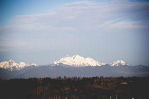 Cascade Mountains by 13surgeries