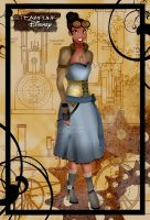 Steampunk Tiana by HelleeTitch