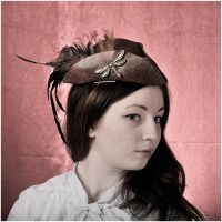 Steampunk Kovacs with minihat 3530 by MissUmlaut