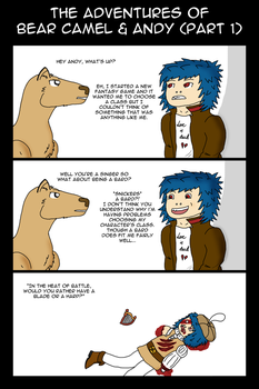 The Adventures of Bear Camel and Andy - #1 by stalydan