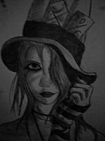 Me As the Mad Hatter by EbonyClokk