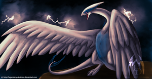 Doodle: Lugia by Legendary-Darkness