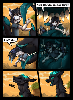 Vore, Lifesaving and a promise with loop. 3/11 by icat