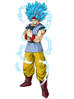 Goku SSj6 by GokuGarlic