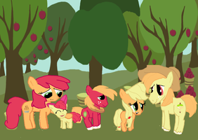 Apple FAMILY by Cartoonfangirl4